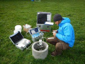 Detail analysis Contaminated deposit soil air analysis - Boden & Grundwasser - soil & groundwater