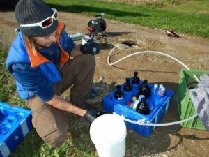 Detail analysis -- Contaminated deposit 3 - Boden & Grundwasser - soil & groundwater