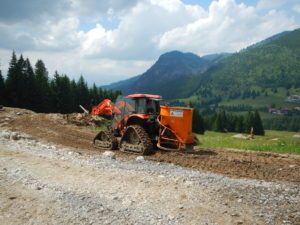 Grenzwies1 -Geotechnical consulting, drill cores of diesel contaminated foundations, classification according to waste management legislation, waste management, communication with authorities -Boden & Grundwasser - soil & groundwater